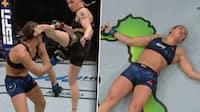 'Klokkerent knockout!': Brutalt spark til hovedet forsvarer Shevchenkos UFC-titel - se det her