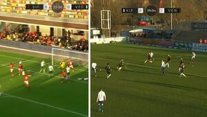 Første Viborg-nederlag og forrygende drømmekasse: Se ALLE rundens mål fra 1. division her