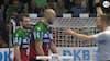 Magdeburg-spiller ser RØDT - raser ud og bliver tiljublet af hele hallen