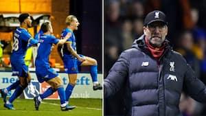 Chokresultat: Liverpool smider føring og skal i omkamp mod League One-hold