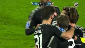 Ahlmann bringer AaB foran med 'måske rundens bedste mål' - Se det HER