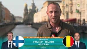 'Sparer Belgien profilerne mod Finland?' Se den dugfriske melding fra Jon Pagh
