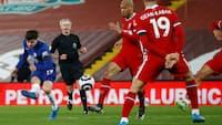 Liverpool taber for FEMTE gang i træk på hjemmebane - Mount sikrer Chelsea 1-0-sejr