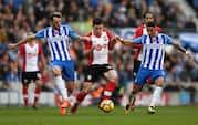 Højbjerg kunne ikke gøre forskellen: Se målene fra Southampton-remis mod Brighton