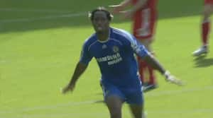 Drogba-hug og Henderson-perle: Se nogle af de bedste mål mellem Chelsea og Liverpool her