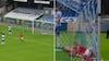 Bizar scoring: Esbjerg-stopper header den over egen keeper - Fremad A. spiller flyver ind i nettet
