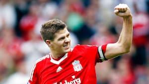 Retro: Da Gerrard sørgede for jubel på fjendtligt territorium - se målene fra 3-0-sejren på Old Trafford lige her