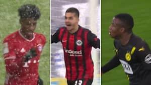 Chok-nederlag og dansker-sejr: Se alle 24 mål fra weekendens Bundesliga-brag her