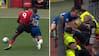Så du det? Lukaku puffer Chelsea-kaptajn væk - flyver ud og vælter fotograf