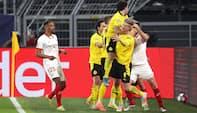 Delaney og Dortmund videre efter VAR-drama: Se højdepunkterne her