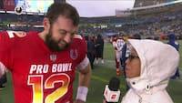 'Keep having fun, keep singing in the rain' - Husker du den glæde Luck udviste til Pro Bowl sidste år?