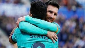 Messi langer ud efter Barcelona ovenpå Suarez-afsked