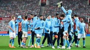 Manchester City klar til finalen i Carabao Cup - se de to mål der nedlagde United
