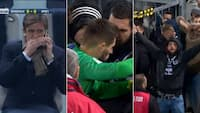 Vilde scener: Fans afbryder fransk kamp og vil have præsidenten væk