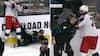 NHL-spiller hamret i isen - så kommer holdkammeraten ham til undsætning