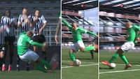 Tidligere Premier League-spiller med to JAMMERLIGE afslutninger på 40 sekunder