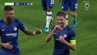 Azpilicuetas flotte hovedstødskasse sender på Chelsea på 2-0