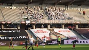Masser fans til kæmpe brag: AGF får lov til at huse 8300 tilskuere mod FCK