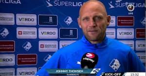 Der er kun en Johnny Thomsen - veteran hyldet i den måske sidste hjemmekamp i Randers