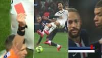 Se det her: Ophidset Neymar smidt ud i PSG-sejr - Mbappé må holde ham tilbage