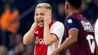 Ajax taber for første gang i sæsonen - se målene fra nederlaget til Willem II her