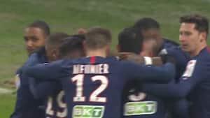 PSG gør det af med Reims i ligacuppen - se målene her