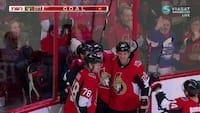 Mikkel Bødker med assist i Senators-sejr over Flames