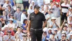 Golfveteranen Phil Mickelson har kurs mod historisk majorsejr