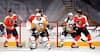 Sæsonen skudt i gang med et brag: Crosby og Penguins sat på plads af Flyers i ni-måls-kamp