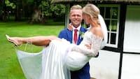 Kevin Magnussen sagde ja til sin Louise på Fyn