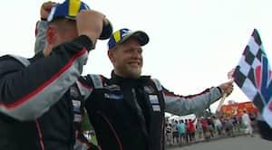 Klasse! Kevin triumferer i USA: Vinder første racerløb i otte år