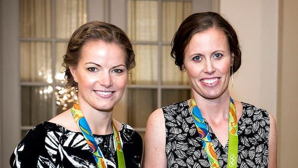 Gravide Kamilla Rytter Juhl stopper karrieren: Vi er ovenud lykkelige!