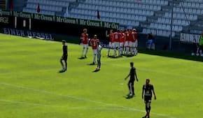 Vejle vinder i målorgie og nærmer sig 3F Superligaen - se alle målene