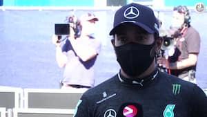 Hamilton efter sæsonens første kvalifikation: 'Det var ikke så let som i vores testløb'