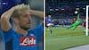 'En MONSTERREDNING af Adrian!': Piller Napoli-forsøg helt oppe på anden sal - se det her
