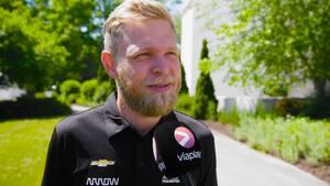 Kevin før IndyCar-debut: 'Jeg er ret meget oppe at køre over det'