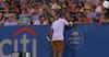 Kontroversiel tennis-profil gør det igen! Får hjælp fra tilskuer og server sig i finalen