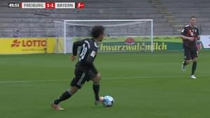 Leroy Sane eller Alberto Tomba: Her er det flotteste oplæg Bayern-stjernen aldrig har lavet