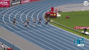 Verdensklasse: Noah Lyles snupper rekord fra Usain Bolt