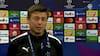 Jon Dahl efter nederlag til Juventus: 'Vi bliver usikre - det er naturligt'