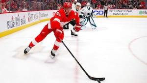 Frans Nielsen laver point i Detroit Red Wings' sejr - se highlights
