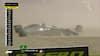 Vanvittig start på Silverstone: Kevin smadrer Haas-raceren og er ude