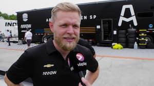 Magnussen om Indycar-debut: 'Det har været crazy - håber at komme tilbage'