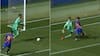 Skidt, skidt, skidt: Målmand snorksover og lader angriber prikke bolden ind