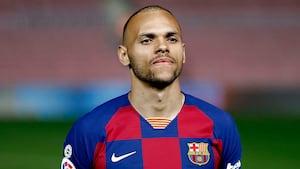 Medie: Barcelona vil sælge Braithwaite - kan være væk i næste uge
