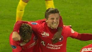 2-0 til FCM! Paulinho rammer overliggeren - Dreyer pumper bolden i nettet!