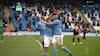 Agüerooooooooooooo har scoret i sin sidste kamp for Manchester City