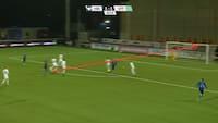 Flot comeback: HB Køge vinder på KANONKASSE af Jordan - se alle målene her her