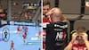 'Hvor er det heldigt': Aalborg-spiller med vanvittig afslutning - træner og holdkammerater tager sig til hovedet