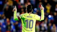 Vanvittig bedrift: Nyt hattrick skubber IGEN Messi forbi ikonisk milepæl
